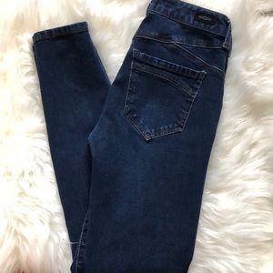 Liverpool dark wash skinny jeans EUC